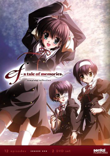 DVD : Ef: A Tale Of Memories Complete Collection (Subtitled, 2PC)