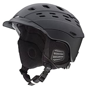 Smith Optics Variant Brim Snow Helmets, Matte Graphite, Small