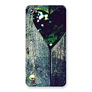 Wooden Vintage Print Back Case Cover for Micromax Canvas Fire 4 A107