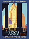 TRAVEL TOURISM HOTEL ROYAL YORK CANADA 30X40 CMS FINE ART PRINT ART POSTER BB9889