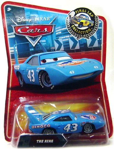 "NEW Disney Pixar ""Final Lap Collection"" 43 THE KING. #47 in the series by Mattel"