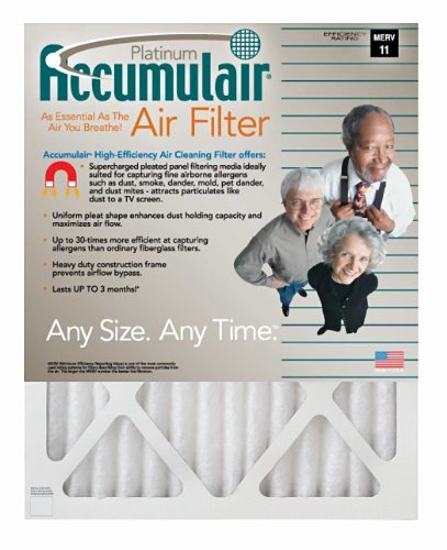 Image of 14.5x27.5x1 (14.25x26.25x.75) MERV 11 Trane Replacement Filter (2 Pack) (B000ME89FW)