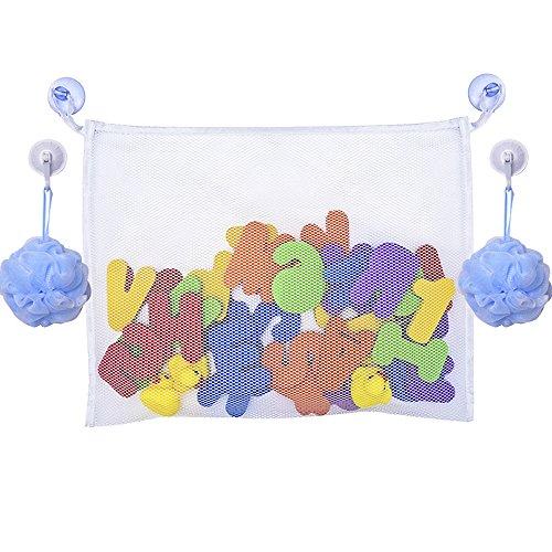 Organizador Juguetes Baño:Mudder Organizador para Juguetes del Baño del Bebé