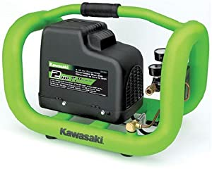 Kawasaki 840700 1-Gallon 2-Horsepower Air Cage-Inch Air Compressor