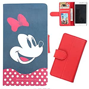 DooDa - For Lenovo A6000 PU Leather Designer Fashionable Fancy Wallet Flip Case Cover Pouch With Card, ID & Cash Slots And Smooth Inner Velvet With Strong Magnetic Lock