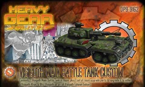 Heavy Gear: Southern Visigoth Main Battle Tank Custom