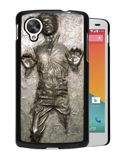 Google Nexus 5 case,Custom Han Solo Frozen In Carbonite Black Google Nexus 5 cover