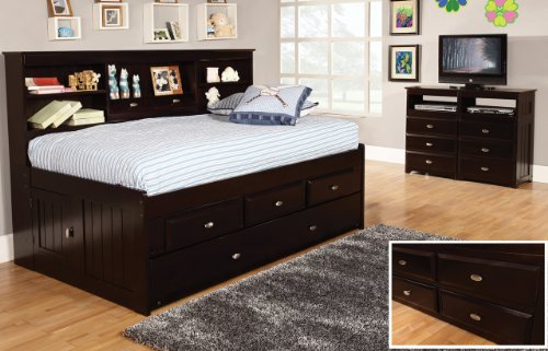 Espresso Finish Dresser back-698107