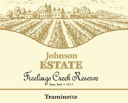 2010 Johnson Estate Freelings Creek Reserve Traminette 750 Ml