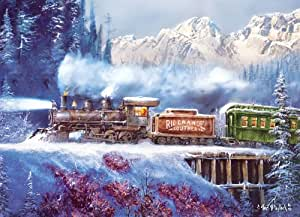 MasterPieces Puzzle Company Railways Rio Grande Southern Jigsaw Puzzle , Art by Ted Blay