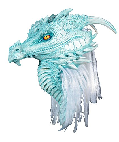 Arctic Dragon Premiere Monster Latex Adult Halloween Costume Mask