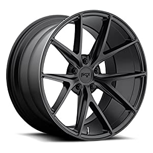 Niche M117 Misano 19x8.5 5x114.3 +33mm Satin Black Wheel Rim
