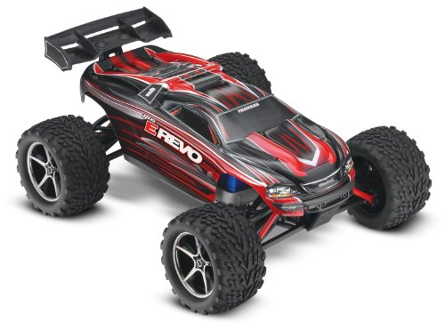 Traxxas 71054 E Revo Electric Monster Truck, 1:16 Scale (color may vary)(Discontinued by manufacturer)