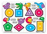 Melissa & Doug Shapes Peg