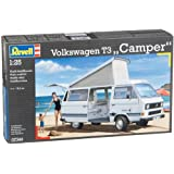 Revell 1:25 Scale Volkswagen T3 Camper Vehicle Model