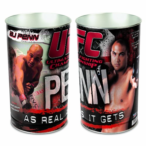UFC Mixed Martial Arts BJ Penn Wastebasket