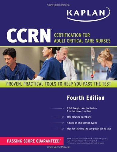 Ccrn: Certification For Adult Critical Care Nurses (Kaplan Ccrn) front-629419