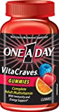 One-A-Day VitaCraves Gummy Multivitamin, 100-count Bottle