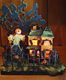Halloween Decorations - Lighted Halloween Haunted House By Christopher James - Made in America - Lighted Halloween Decoration