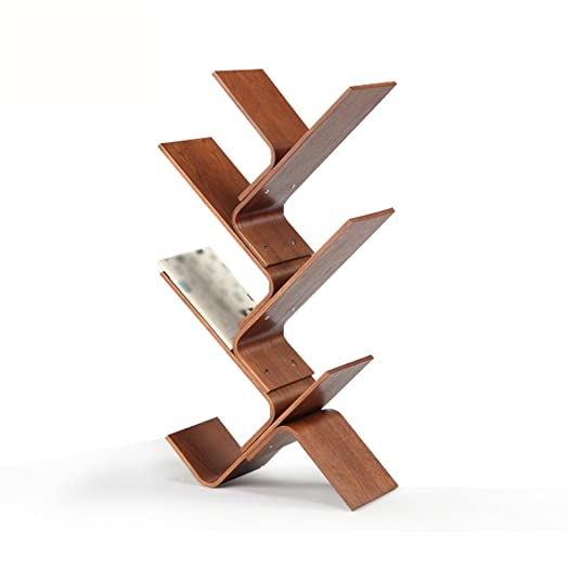 XIAOXIAO Bookshelf Personality Simple Floor Type Multifunzione Three Color Opzionale Facile da spostare ( Colore : 01 )