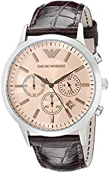 Emporio Armani Analog Beige Dial Mens Watch - AR2433