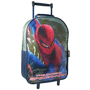 Spiderman Travel Cabin Wheeled Trolley Case Suitcase Rolling Holiday Bag Luggage by Sambro