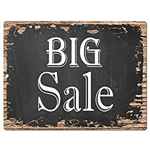 Big Sale Chic Sign Rustic Shabby Vintage Style Retro Kitchen Bar Pub Coffee Shop