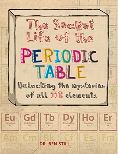 The secret life of the periodic table unlocking the for 118 elements of the periodic table