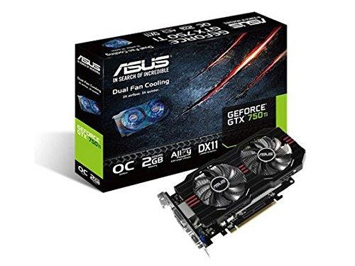 Asus Computer International - Asus Gtx750ti-Oc-2Gd5 Geforce Gtx 750 Ti Graphic Card - 1072 Mhz Core - 2 Gb Gddr5 Sdram - Pci Express 3.0 - 5400 Mhz Memory Clock - 2560 X 1600 - Fan Cooler - Directx 11.0 - Hdmi - Dvi - Vga