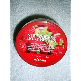 Missha Strawberry Body Butter 5.41 fl.oz