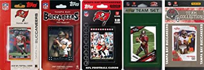 NFL Tampa Bay Buccaneers 5 Different Licensed Trading Card Team Sets