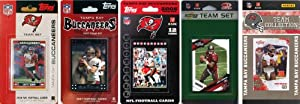 NFL Tampa Bay Buccaneers 5 Different Licensed Trading Card Team Sets by C&I Collectables