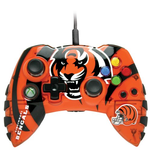 Xbox 360 NFL Cincinnati Bengals Controller