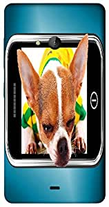 Timpax Protective Hard Back Case Cover With access to all controls and ports Printed Design : A puppy on a screen.Precisely Design For : Nokia Lumia 540 ( Microsoft Lumia 540 )