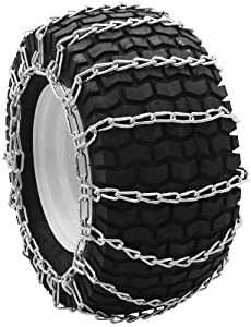 Security Chain Company QG0223 Quik Grip Garden Tractor and Snow Blower Tire Traction Chain - Set of 2 from SCC