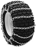 Security Chain Company QG0250 Quik Grip Garden Tractor and Snow Blower Tire Traction Chain - Set of 2