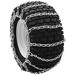 Security Chain Company QG0209 Quik Grip Garden Tractor and Snow Blower Tire Traction Chain - Set of 2