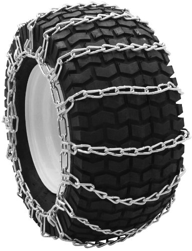 Security Chain Company QG0266 Quik Grip Garden Tractor and Snow Blower Tire Traction Chain - Set of 2