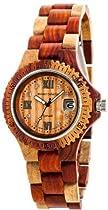 Tense Inlaid Sandalwood Natural Wood Watch Ladies L4100I Roman RNLF