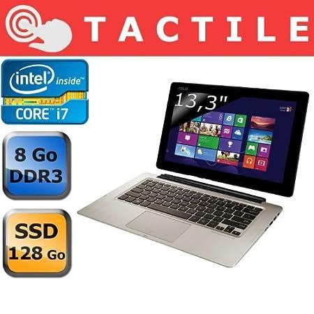 Ordinateur Portable ASUSTEK TX300CAC4024H GRIS INTEL CORE I7 3517U 1.9GHZ 4GO HDD 500GO SSD 128GO WIN8