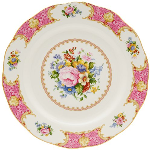 Royal Albert Lady Carlyle Dinner Plate 10-3/4-inches English Garden Fine China Japan