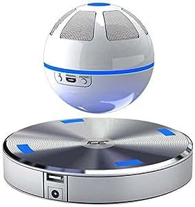 Ice Orb Floating Bluetooth Speaker (White/Blue)