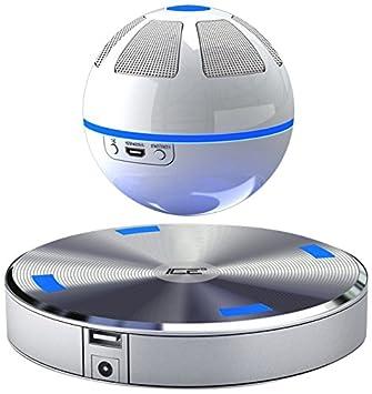 ICE Orb Floating Bluetooth Speaker - White/Blue