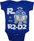 Star Wars R is for R2D2 Infant Bodysuit