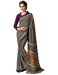 AG Lifestyle Women's Silk Saree(SD112, Beige)