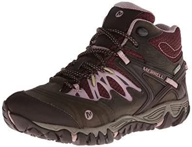 Merrell Ladies Allout Blaze Mid Waterproof Hiking Boot by Merrell