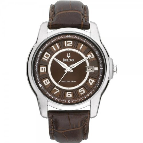 Bulova 96B128 Mens Precisionist Brown Watch