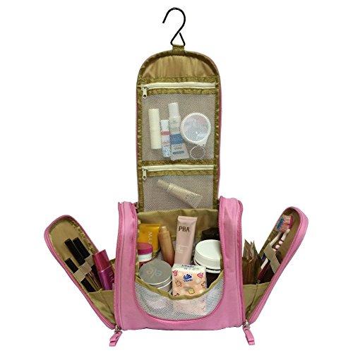 Mr Pro Waterproof Travel Kit Organizer Bathroom Storage Cosmetic Bag Carry Case Toiletry Bag