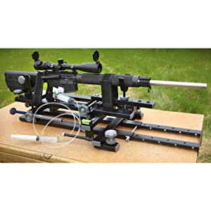 Hyskore Black Gun Machine Rest by POWER AISLE