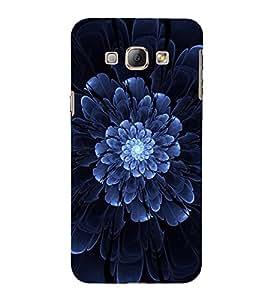 Vizagbeats blue light flower Back Case Cover for Samsung Galaxy A8::Samsung A8 2015